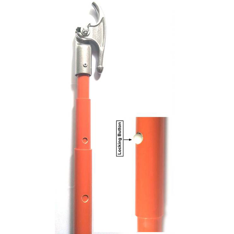 Fiberglass Telescopic Hot Stick Used in Earthing Set of High Voltage
